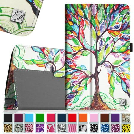 Fintie Folio PU Housse en cuir pour LG G Pad F 8.0 Tablet AT & T V495 / T-Mobile V496 / US Cellular UK495, arbre de l'amour - image 7 de 7