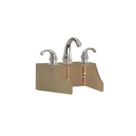 DecoLav 9400T Glass Faucet Stand for use with Vessel Sink