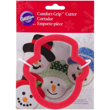 Wilton Comfort Grip 4 Comfort Grip Cookie Cutter Smowan Hat 2310 3701
