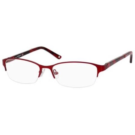 LIZ CLAIBORNE Eyeglasses 385 0FC9 Red Rose (Rose Eyeglasses)