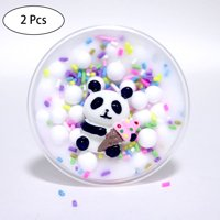 〖Follure〗Panda Beads Slime Clay Sludge Toy Kids Adult Stress Relief Plasticin Toys Gift