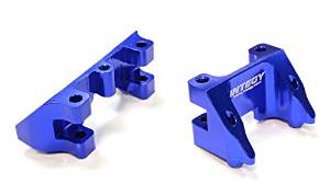 Integy RC Hobby C25790BLUE Billet Machined Shock Mount (2) for Traxxas 1 10 Summit by Integy