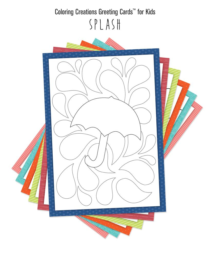 Coloring Creations Greeting Cardstm Coloring Creations Greeting