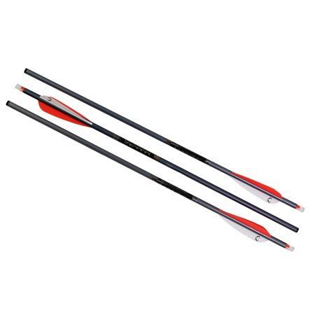 "TenPoint Crossbow Technologies Omni-Brite 2.0 Lighted 20"" Arrows 2219, Aluminum, Per 3"