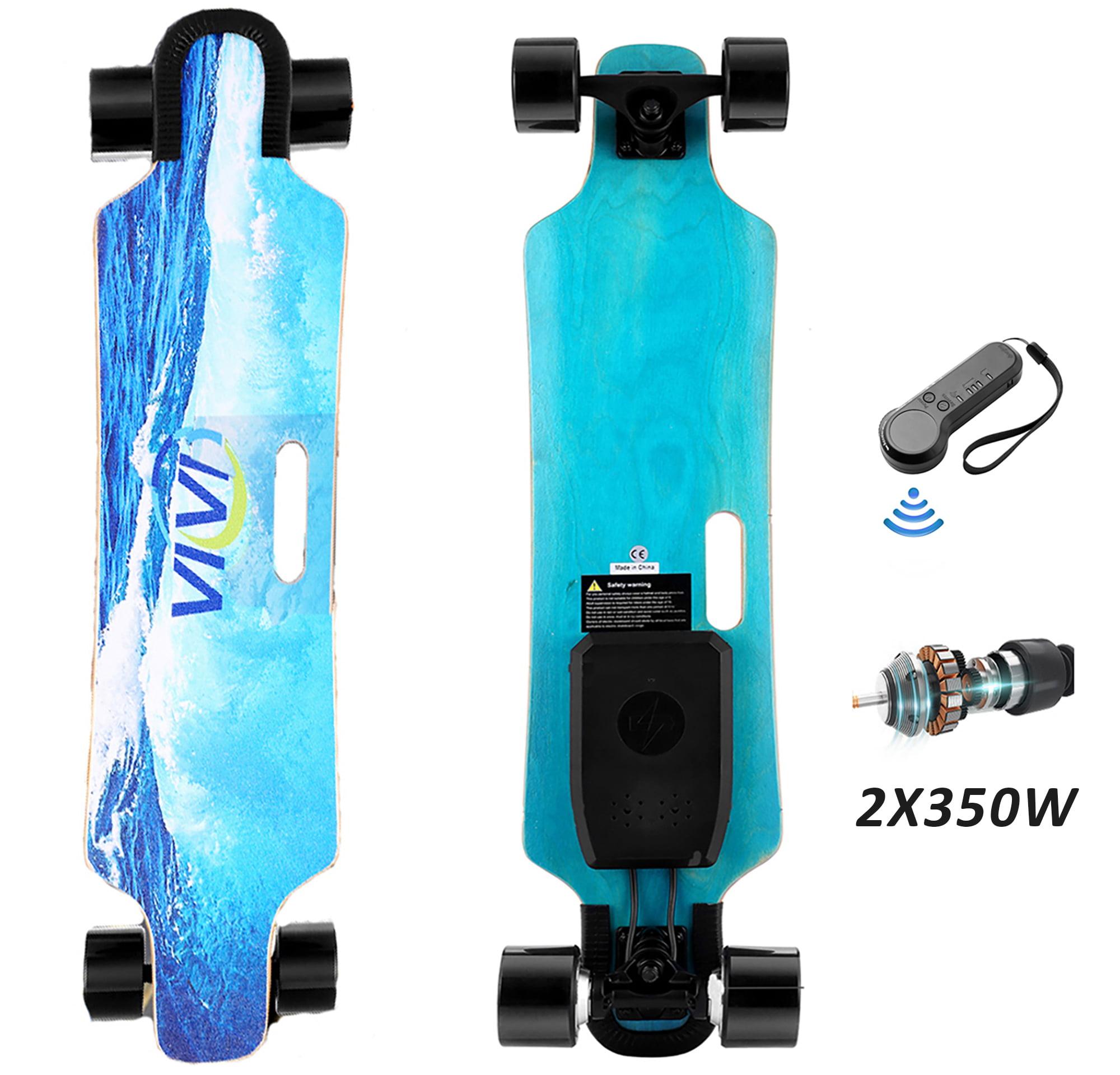 "Details about  /700W Power 36/"" Electric Skateboard with Wireless Remote Control Dual 350W b"