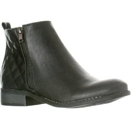 cbd776a36d Riverberry - Riverberry Women's Jada Quilted Low Heel Zip-Up Ankle Bootie  Boots - Walmart.com