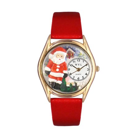 Christmas Santa Claus Watch Small GoldStyle