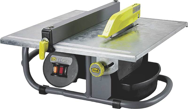M-D 48190 Portable Corded Tile Saw, 120 V, 3.5 A, 3 4 hp, 7 in Blade, 3600 rpm by M-D Building Products