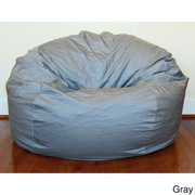 Ahh Products Denim 36-inch Washable Bean Bag Chair