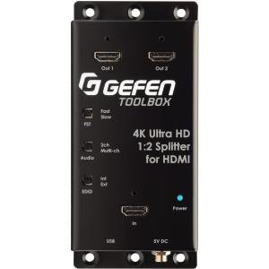 Gefen 4K Ultra HD 1:2 Splitter for (Gefen 6 Hdmi Cable)