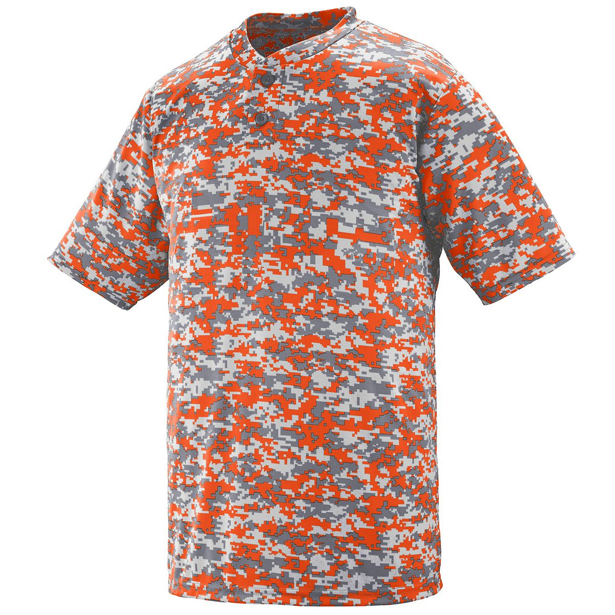 Augusta Digi Camo Wicking Two-Btn Jrsy Or Digi L - image 1 de 1