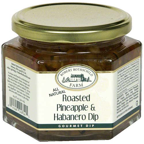 Robert Rothschild Farm Roasted Pineapple & Habanero Gourmet Dip, 10.5 oz (Pack of 6)
