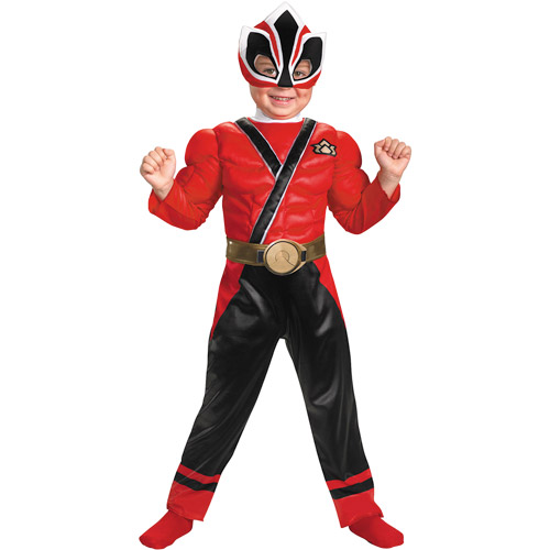 Power Rangers Red Ranger Muscle Toddler Halloween Costume