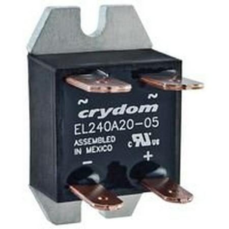 EL240A20-12 SOLID STATE RELAY 24-280 V - PM IP00 SSR 280VAC/20A,10-14VDC,ZC