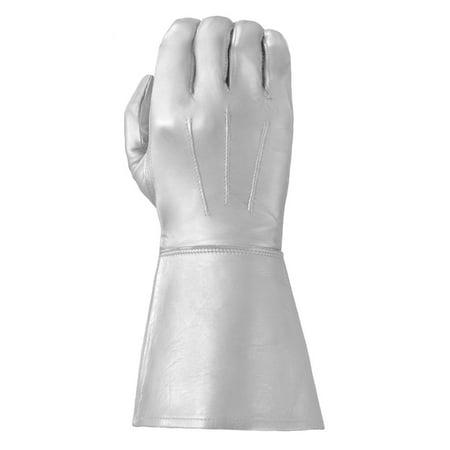 Tough Gloves Men's Ultra Enforcer Leather Gauntlets - Leather Welders Gauntlets