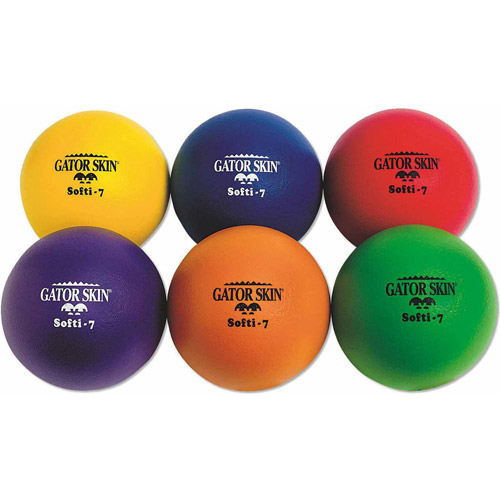 Gator Skin Softi-7 Balls, Set of 6
