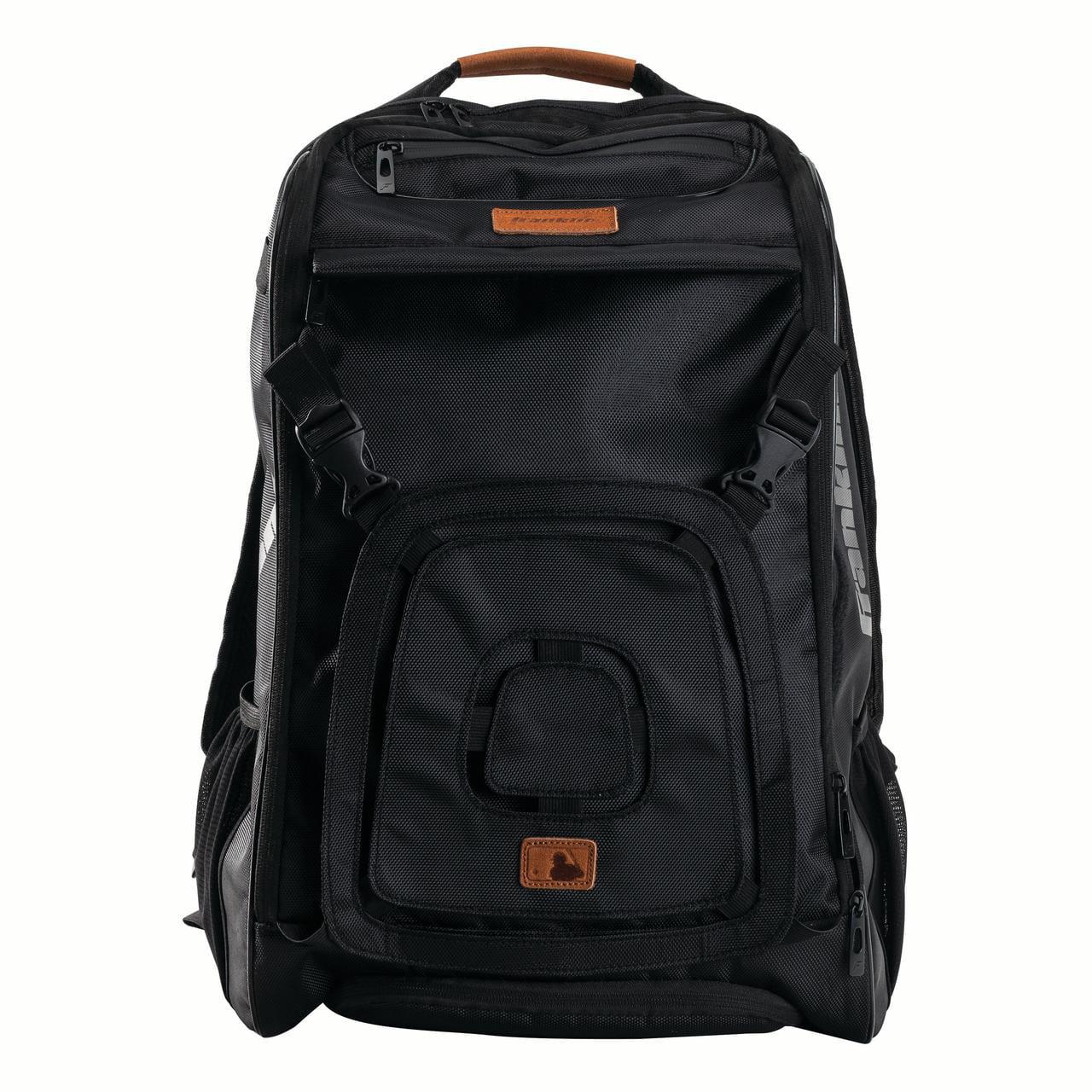 Franklin Sports MLB Traveler Plus Batpack, Black