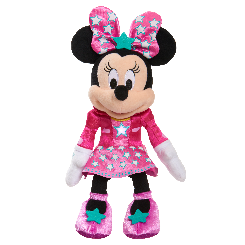 Minnie's Happy Helpers Lights & Sounds Plush - Pop Star Singing Minnie