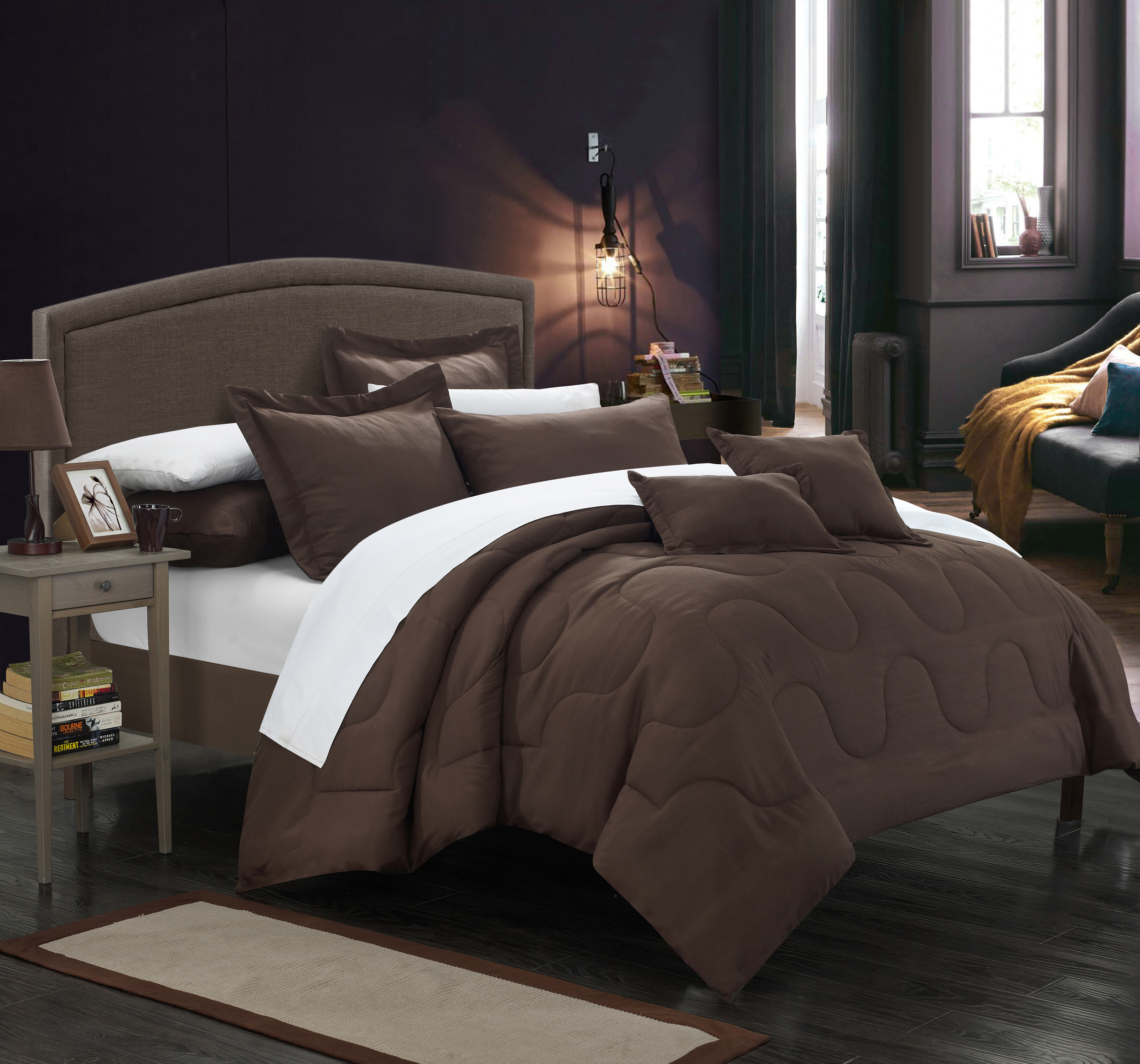 Chic Home 7 Piece Direllei Comforter Set by Chic Home