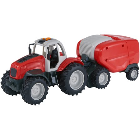 Adventure Force Farm Works Motorized Vehicle, Tractor with