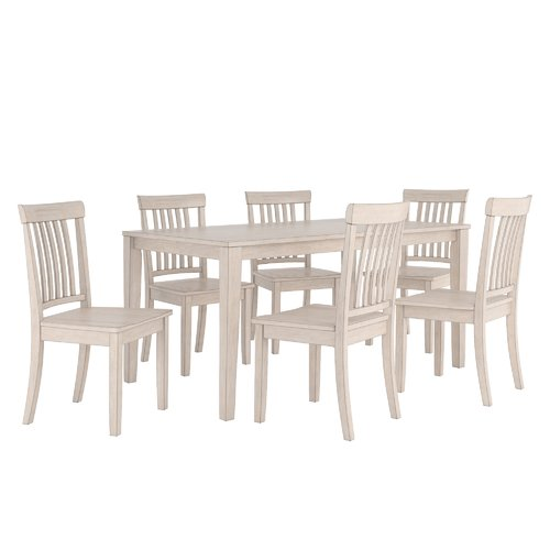 August Grove Alverson 7 Piece Dining Set