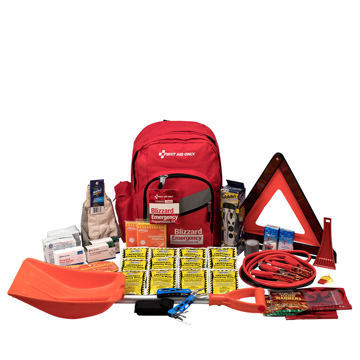 2 Person Emergency Preparedness Blizzard Backpack