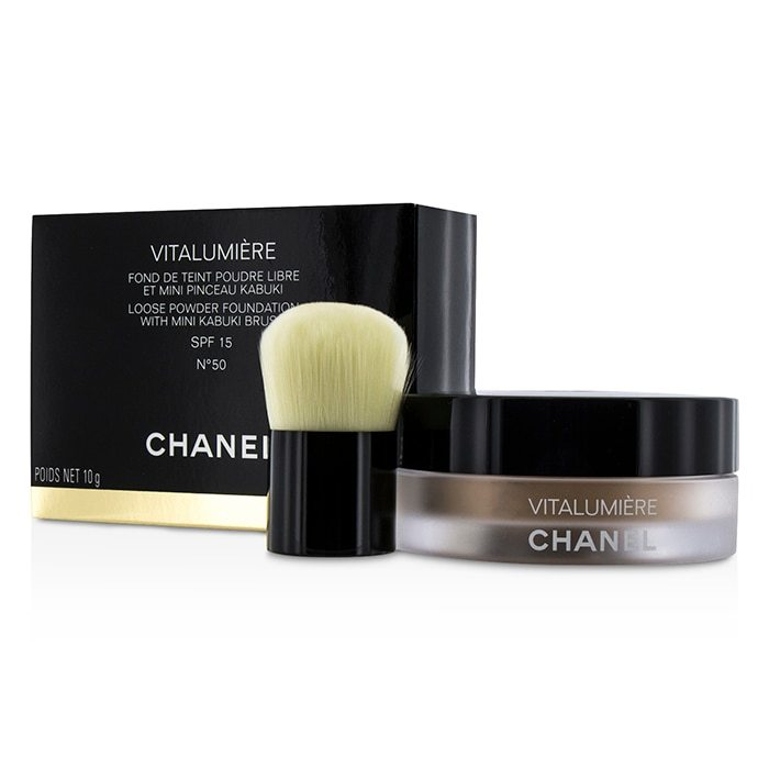 Chanel Vitalumiere Loose Powder Foundation SPF15 With Min...