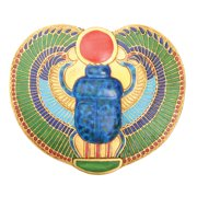 Egyptian Winged Scarab Box - Collectible Egypt Decoration Container