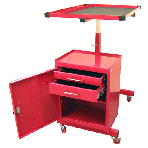 Excel Hardware Adjustable Metal Tool AV Cart