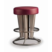 Backless Swivel Counter Stool (Aluminium, 24 in. - Counter Height)