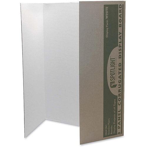 Pacon Single-walled Tri-Fold Presentation Boards
