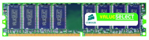 Corsair Vs1gb533d2 1gb Pc-4200 4-4-4-12 Dimm