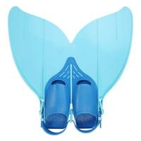 Mermaid Swim Fin Adolescent Beach Swim Fin Flipper Snorkeling Mermaid