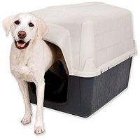 Petmate Indoor & Outdoor Dog House, Medium and Large Sizes