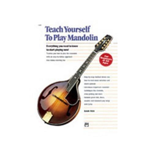 Alfred Alfred's Teach Yourself to Play Mandolin by Alfred