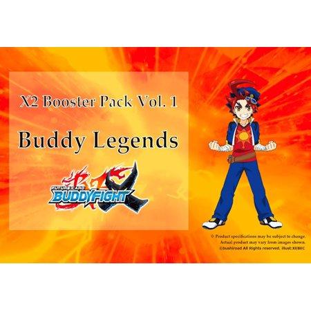 Future Card BuddyFight Buddy Legends The Beginning of A New Arc Booster Box (Art Game Cards)