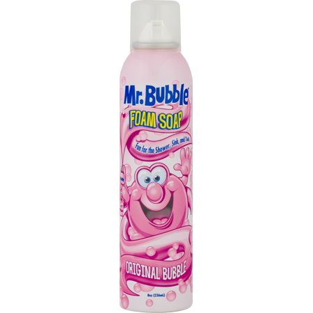 - Mr. Bubble Original Foam Soap, Original Bubble Gum Scent, 8 Oz