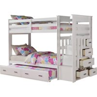 ACME Allentown Twin Over Twin Bunk Bed, Multiple Colors