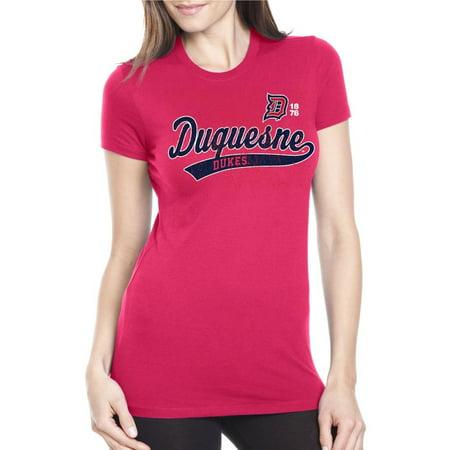 J2 Sport Duquesne Dukes NCAA Juniors Sports Tail T-shirt