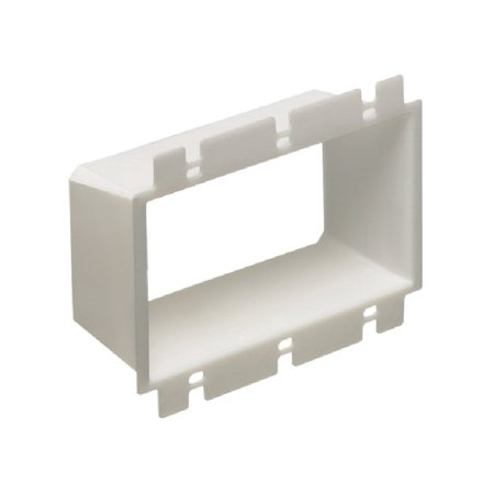 Arlington - Three Gang Outlet Box Extender - BE3 (Mounting Screws NOT Included)
