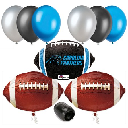 Carolina Panthers  Super Bowl Football Balloon Decorating Party Pack 10Pc