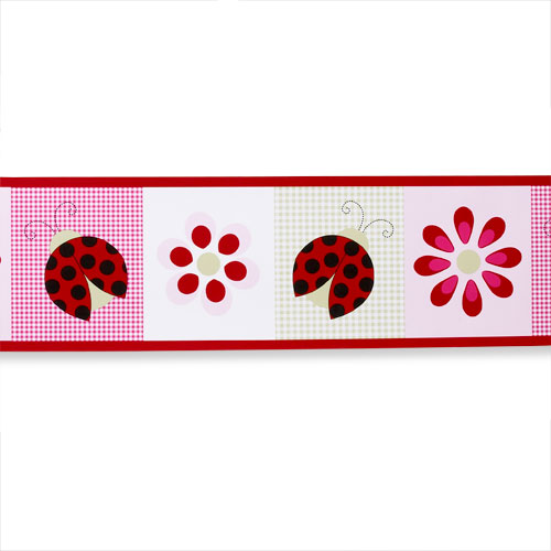 "Li'l Kids - ""L is for Ladybug"" Wall Border"