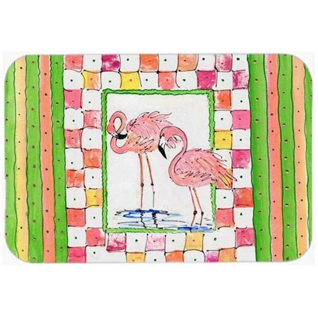 Carolines Treasures 8077-CMT Flamingo Kitchen Or Bath Mat - 20 x 30 in. - image 1 of 1