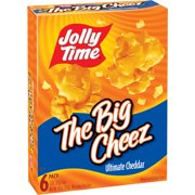 Jolly Time The Cheez Ultimate Cheddar Microwave Popcorn 3 Oz 6 Count