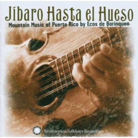 Full Title  Jibaro Hasta El Hueso  Mountain Music Of Puerto Rico By Ecos De Borinquen Jibaro Hasta El Hueso Was Nominated For The 2004 Grammy Award For Best Traditional World Music Album Musica Jibara  The Mountain Village Music Of Puerto Rico  Has Experienced A Revival  Ecos De Borinquen  A Group Of Virtuoso Jibaro Performers  Show Their Shining Strength  Dexterity  And Spirit Of Jubilation Through This Outstanding Album  The Spunky Guitars And Cuatro  A Steel Stringed Instrument  Ring Of Puerto Ricos Old World Spanish And Caribbean Influences  And The Seductive Salsa Percussion Generates An Atmosphere Most Native Puerto Ricans Associate With All Night Celebrations And Partying  What May Be More Obvious To Spanish Speakers Than English Speakers Is The Marvelous Use Of Poetry And Language In The Bands Often Improvised Lyrics  Led By Jibaro Master Miguel Santiago Diaz  Ecos De Borinquen Embody The Resilient  Uplifting Spirit Of The Puerto Rican Musical Tradition