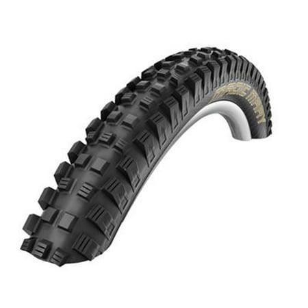Mountain Bike Tire Wire Bead (Schwalbe Magic Mary HS 447 BikePark Addix Mountain Bicycle Tire - 27.5 in Wire Bead (Black - 27.5 x 2.35))