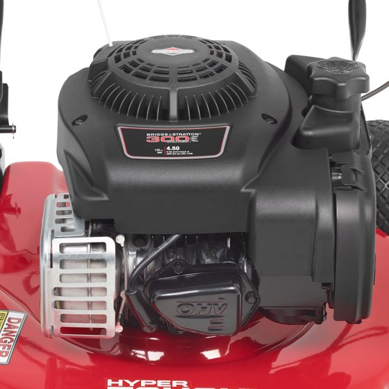 Hyper Tough 20 in  Briggs & Stratton 125cc Gas Push Lawnmower