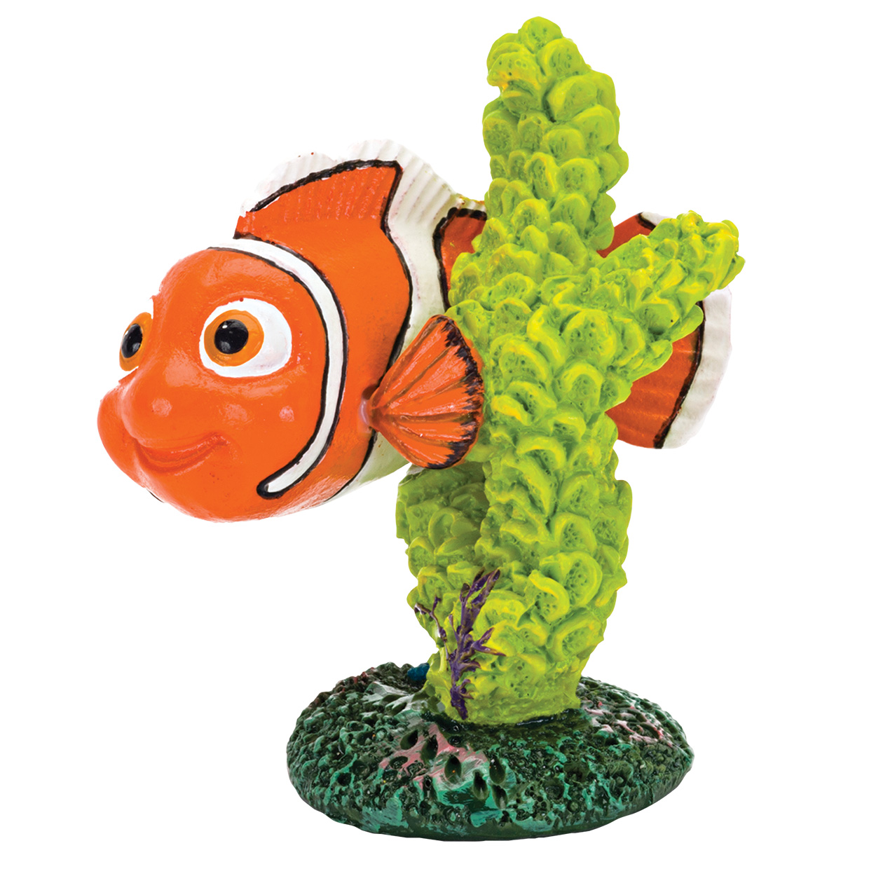 Penn Plax Finding Dory Nemo with Green Coral - Medium