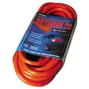 Coc 02407 25 ft. Vinyl Outdoor Extension Cord - 15 Amp
