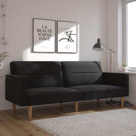 Mainstays Channel Sofa Bed, Multiple Colors ()